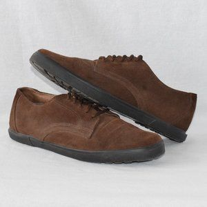 Dockers Brown Suede Oxford Shoes Size 10.5